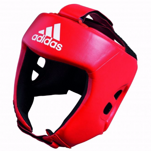 Adidas AIBA Style Training Head Guard - Red